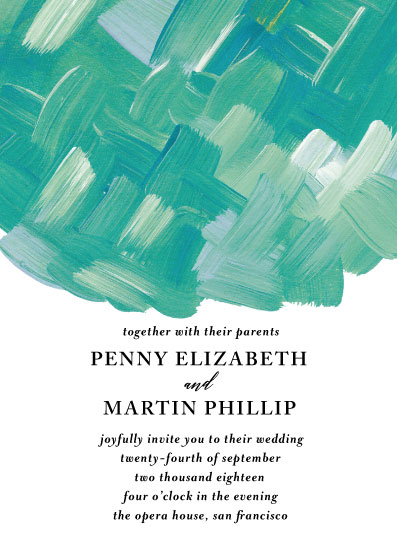 wedding invitations - Mermaid Rock by Ashlee Townsend