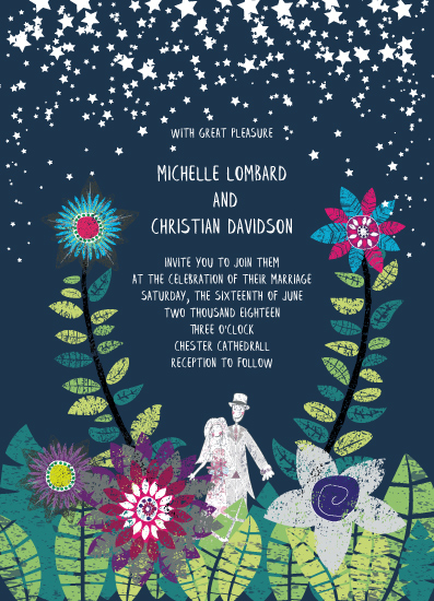 wedding invitations - Star Garden by Phill Taffs