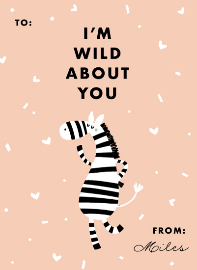 valentine's day - Wild About You by Creative Parasol