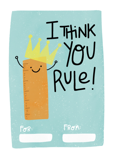 valentine's day - You Rule! by Juliana Duque