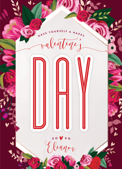 valentine's day - Happy Bouquet Day by Suzanne Green