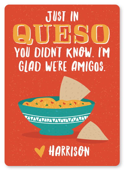 valentine's day - Just in Queso by One Swell Studio