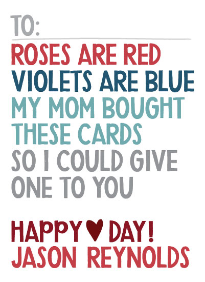 valentine's day - Roses are Red by Jessie Steury