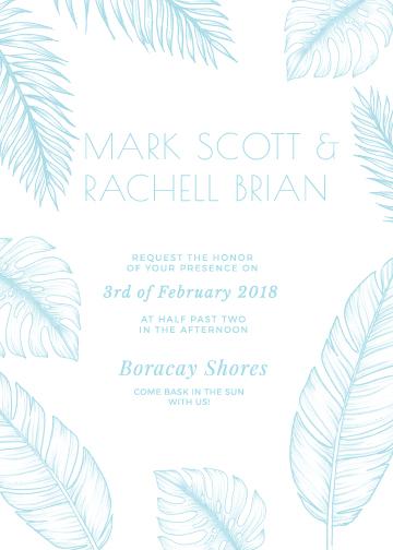 wedding invitations - Soft Summer by The Artist Scientist