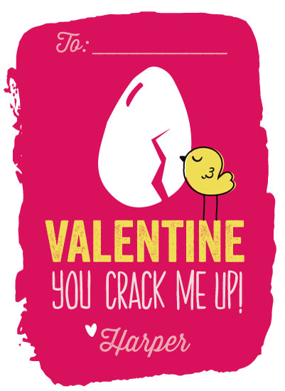 valentine's day - You Crack Me Up by Blair Stratton