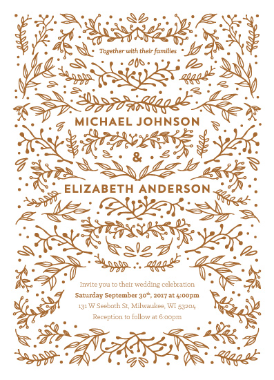 wedding invitations - All in the Details by Naomi Scheel
