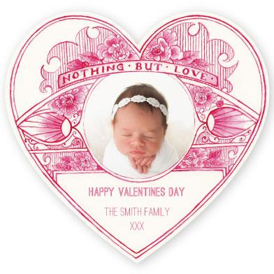 valentine's day - VintageLoveHeart_Red by Anthea BN