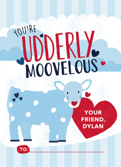 valentine's day - Udderly Moovelous by Angie Sandy
