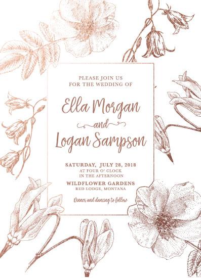 wedding invitations - Rocky Mountain Wildflowers by Madrona Press