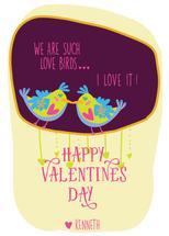 Love birds by Bhavika Malhotra