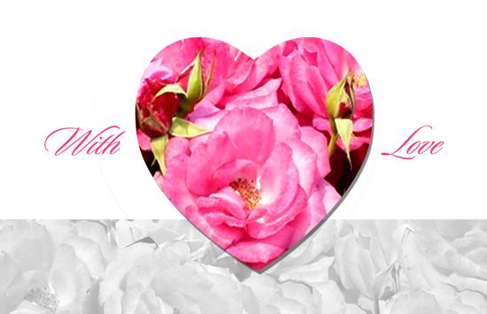 valentine's day - With Love - Valentine's Day Card by Samiran Sarkar