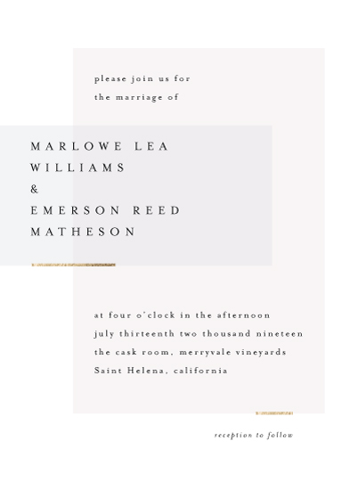 wedding invitations - Clean and Modern by Kelly Schmidt