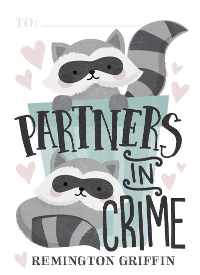 valentine's day - Partners in Crime by Jessie Steury