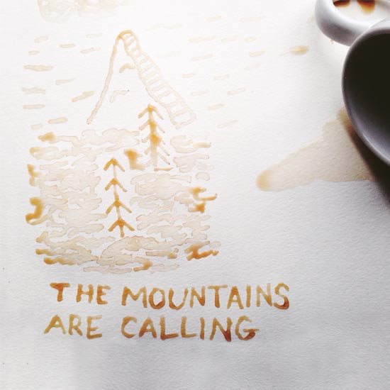 art prints - Mountains Are Calling by Brittnee Snodgrass