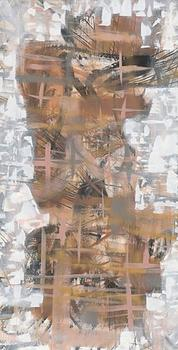 Beige, Bone and Tan Abstract