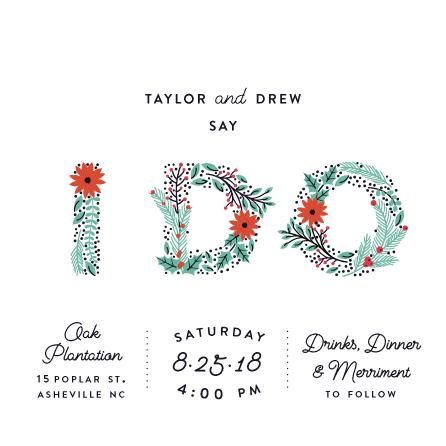 wedding invitations - Holiday I Do by Fox and Hound