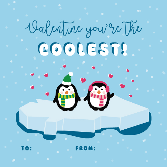 valentine's day - Cool Penguins by AS Designs
