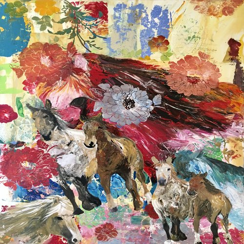 art prints - Spiritual instinct by Pascale cerdan
