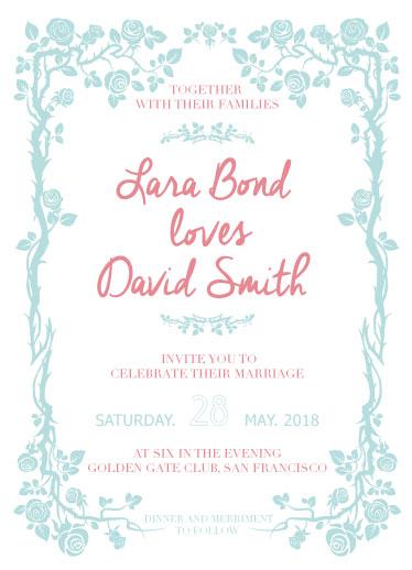 wedding invitations - Fairy Tale by Deyas Paper co.