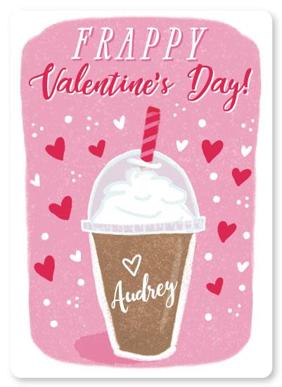 valentine's day - Frappy Valentine's Day by One Swell Studio