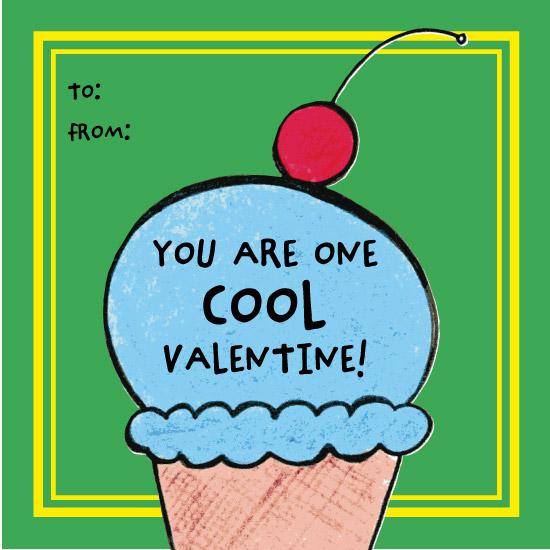 valentine's day - Ice Cream Cone by Amy Solaro