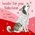 Howling Huskie by Sherri Buck Baldwin