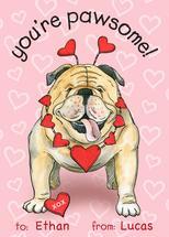 Pawsome Bulldog by Sherri Buck Baldwin