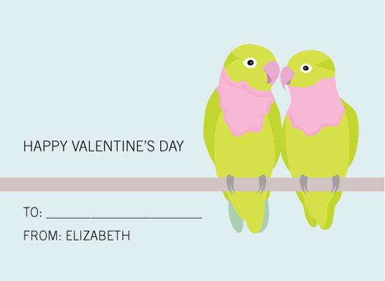 valentine's day - Lovebirds by Sarah Cohn