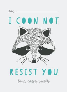 I coon not resist you