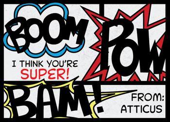 Super Friend Comic