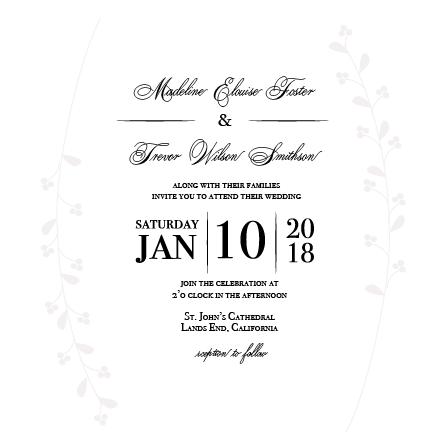 wedding invitations - Deboss of Elegance by Sarah Pilegard