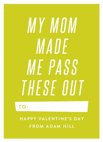 valentine's day - Mom Made Me by Amy Payne