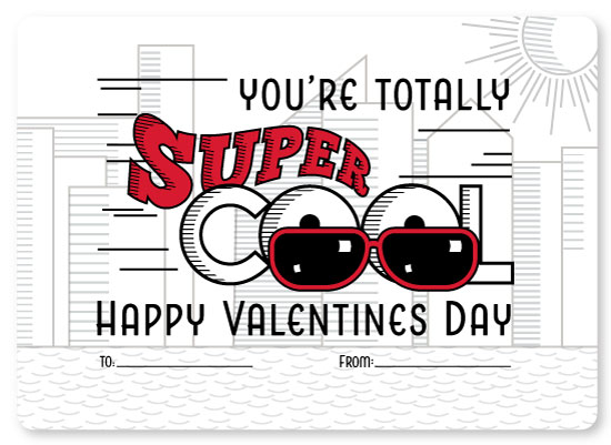 valentine's day - Totally Super Cool by Debbie Quist