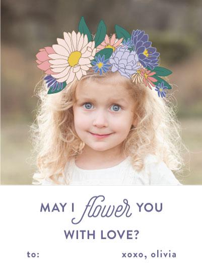 valentine's day - Flower Crown by Liz Conley