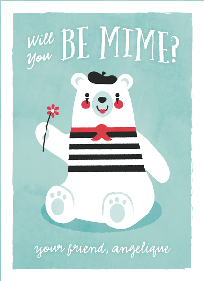valentine's day - be mime by Susan Asbill