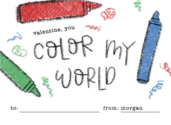 Valentineu0027s Day   You Color My World! By Olivia Goree