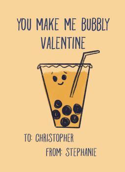 Bubbly Valentine