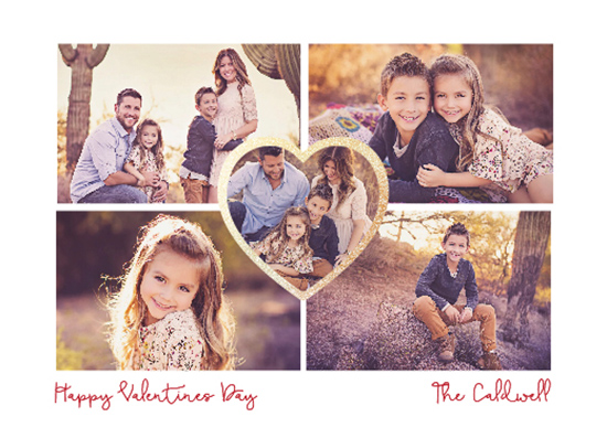 valentine's day - Family Valentines Card by Carlota Suaco