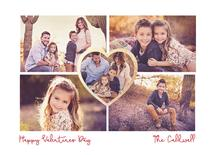 Family Valentines Card by Carlota Suaco