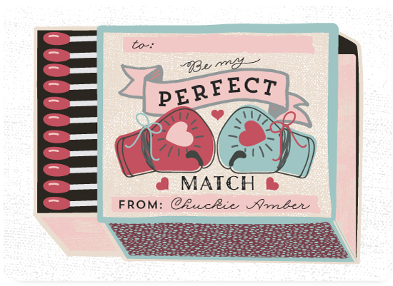 valentine's day - Perfect Match by Rega