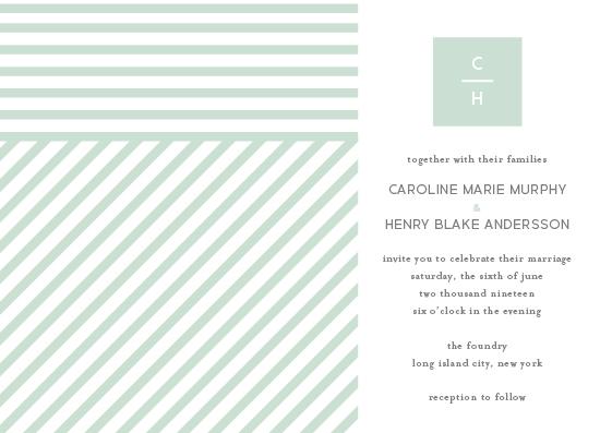 wedding invitations - Modern Prep by kelly ashworth