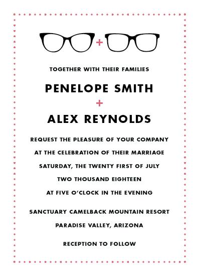wedding invitations - Wedding Specs by kelly ashworth