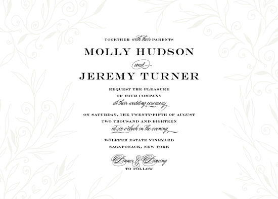 wedding invitations - Amour by Nicoletta Savod