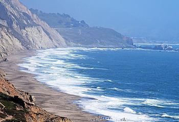 Pacific near San Francisco