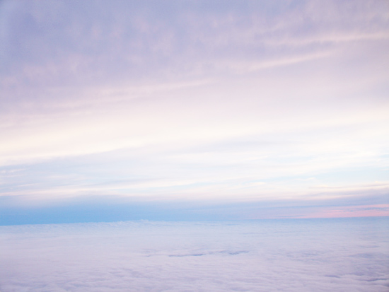art prints - High Above the Clouds by Gray Star Design