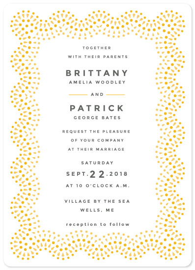 wedding invitations - Dancing Pearls by kukkiilabs