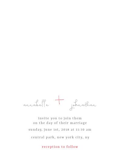 wedding invitations - Keep it Simple by Salt and Light