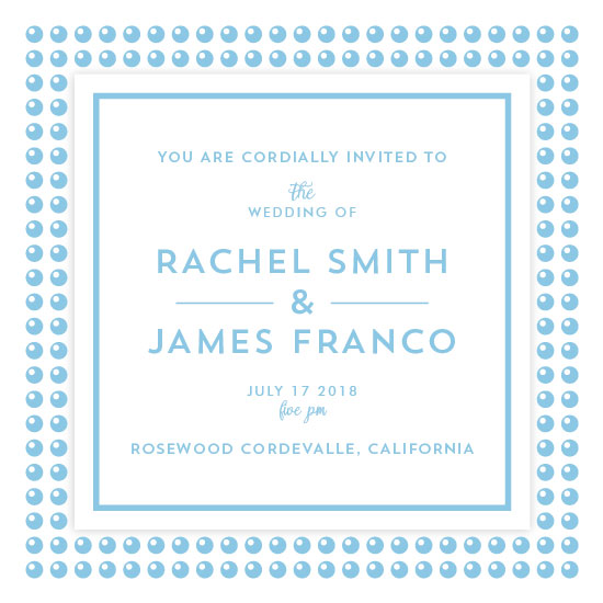 wedding invitations - Beads by Ophero