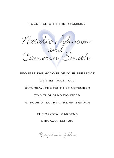 wedding invitations - All My Heart by Cecilia Oh