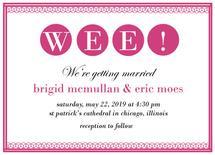 Wee! Wedding Preppy by Weee Designs